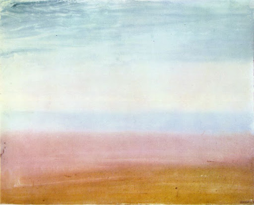 TURNER, William. (1819). Colour Beginning. The Tate Gallery, Londres.