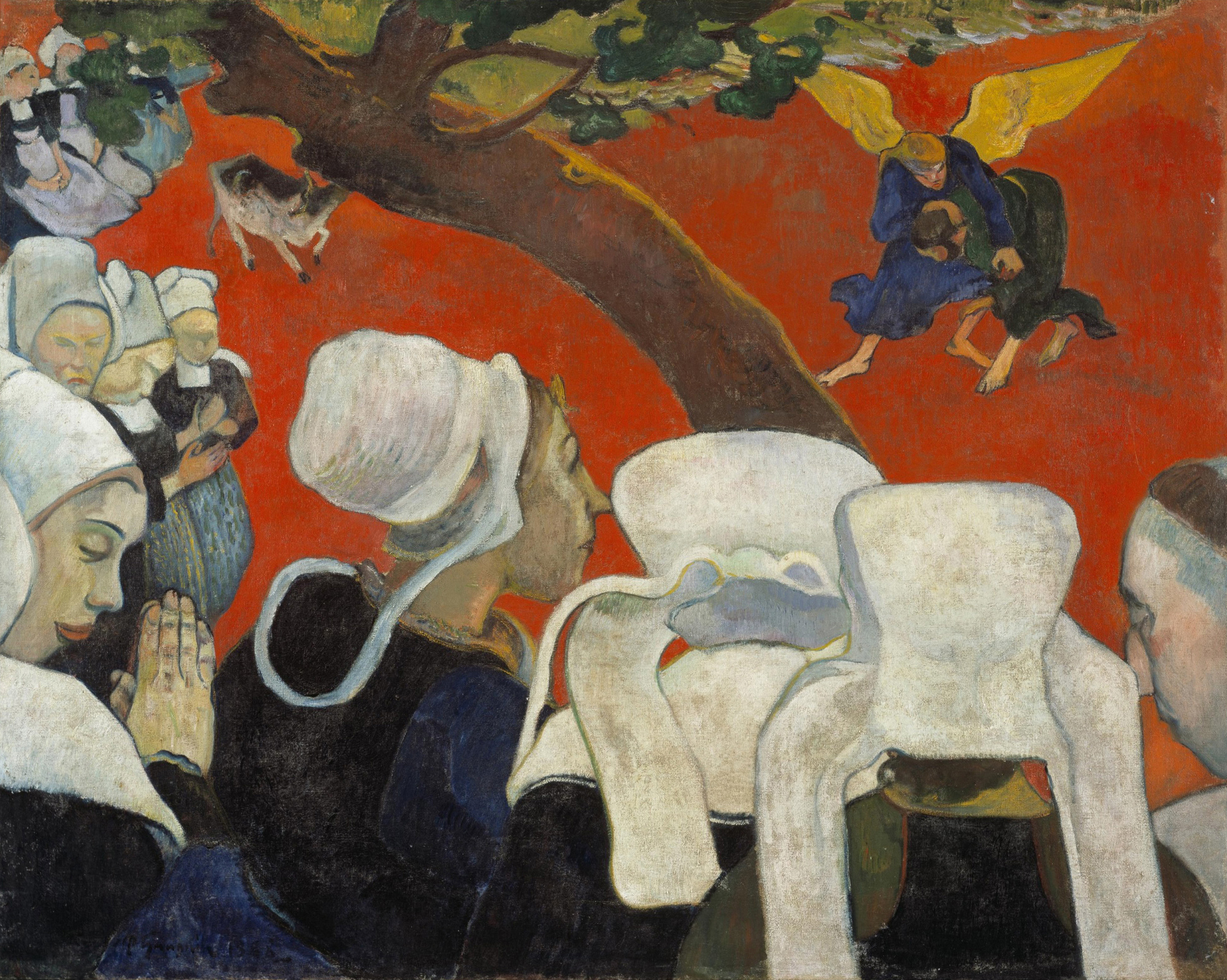 Gauguin, P. (1888). Vision after the Sermon. National Galleries of Scotland.